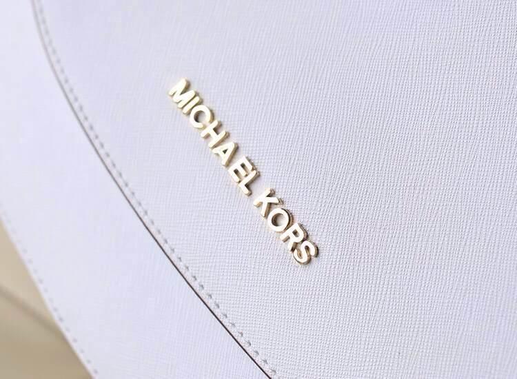一件代发 mk专柜新款 Hamilton锁头邮差包 女士斜挎包 白色