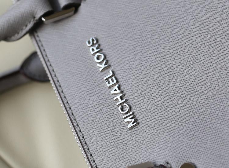 MK dressy/sutton 杀手包 原版进口牛皮手提女包单肩包 灰色